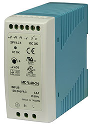Power supply for DIN rail mount 11085