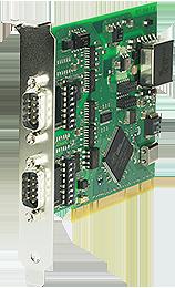 PCI-Karte 2x RS422/RS485, 1kV isoliert