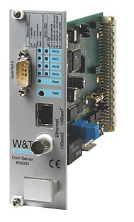 "Com-Server 19""-Version, 1 serieller Port"