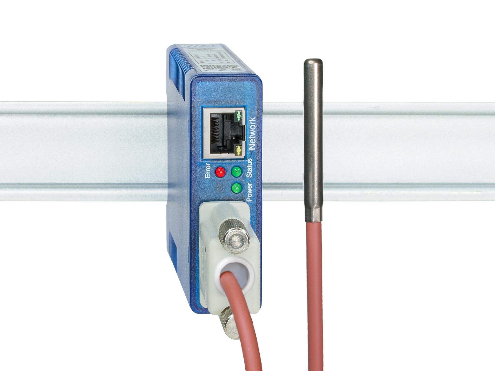 Wut Data Sheet Web Thermometer Pt100 Pt1000 Temperature Via Network 4 Wire Diagram Monitor Temperatures