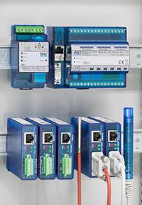 Web-IO in the control cabinet