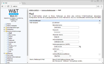 Screenshot e-mail